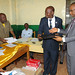 Bukavu, South Kivu province, DR Congo: The United Nations Joint Human Rights Office (UNJHRO) donates a set of office equipment to the Network for the protection of victims, witnesses and human rights defenders (VIWINE).