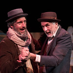 Waiting for Godot - Arvada Center 2017 - Timothy McCracken (Estragon) and ​Sam Gregory (Vladimir) Photo Credit: M. Gale Photography 2017