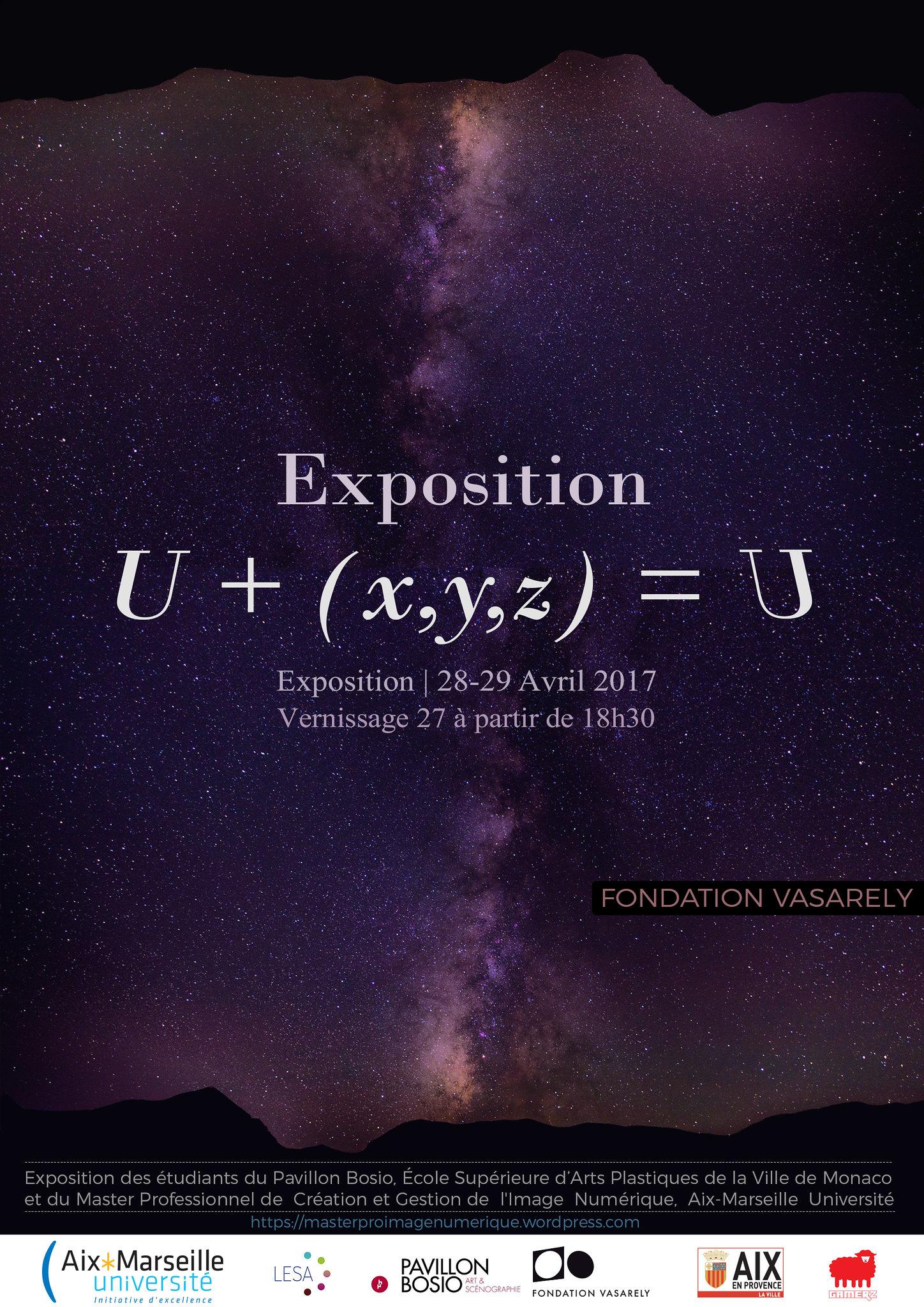 2017 - Exposition U+(x,y,z)=U