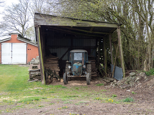 Very old tractor