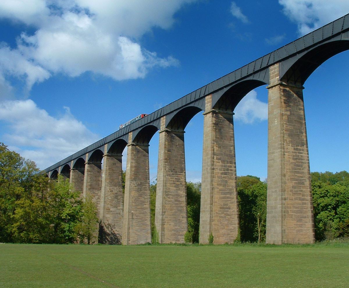 Pontcysyllte Aqueduct, Wales. Credit Akke Monasso