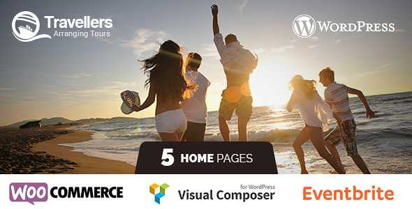 Travellers WordPress Theme free download