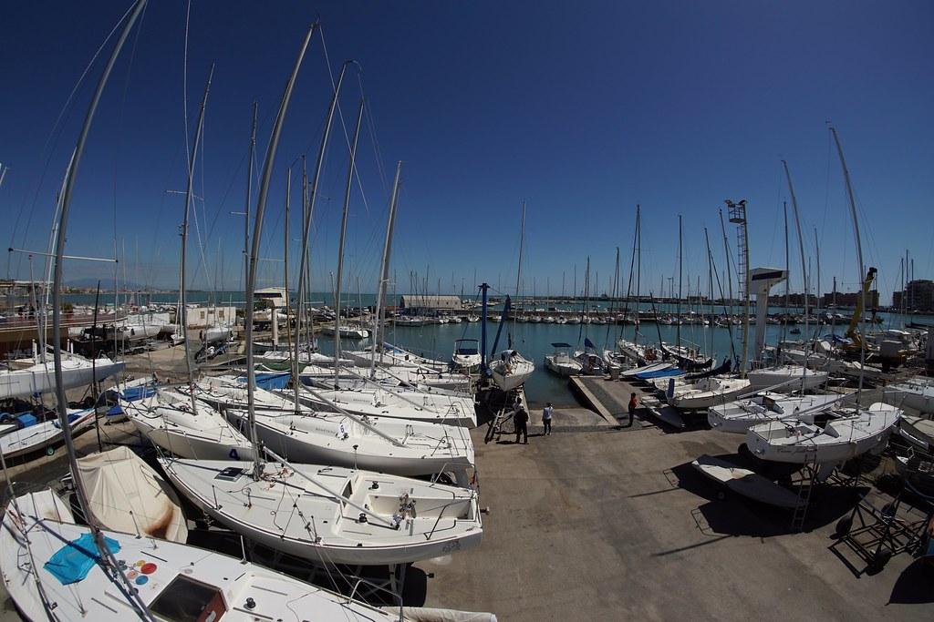 Anzio Il Porto Dei Velisti Terrazza Lega Navale Italiana