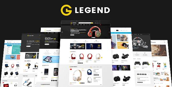 VG Legend WordPress Theme free download
