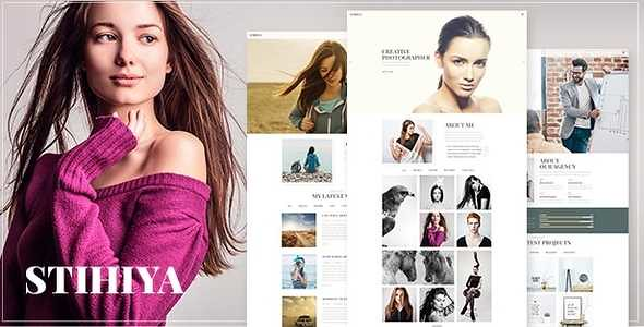 Stihiya WordPress Theme free download