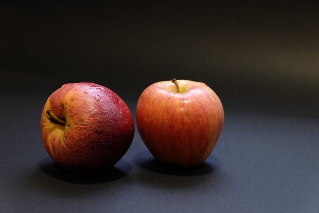 Pieles de manzana ....