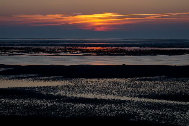 Föhr Sonnenuntergang, Sony SLT-A58, Tamron SP 70-300mm F4-5.6 Di USD