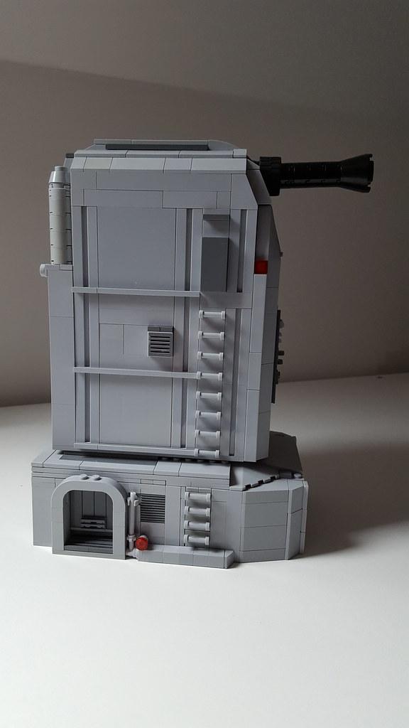 Eadu turbo laser from Rogue one. (custom built Lego model)