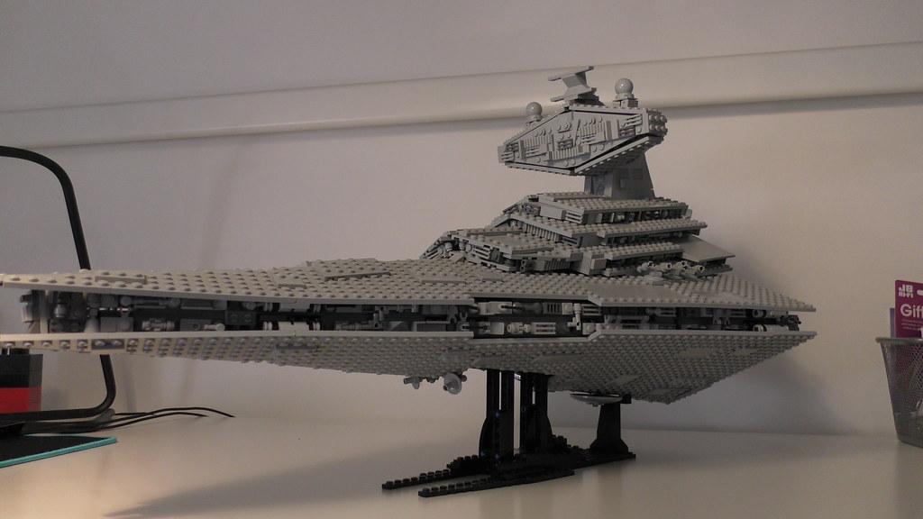 Moc Mod 6211 Imperial Star Destroyer Lego Star Wars