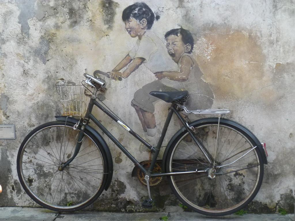 Street Art, Penang / George Town / Malaysia