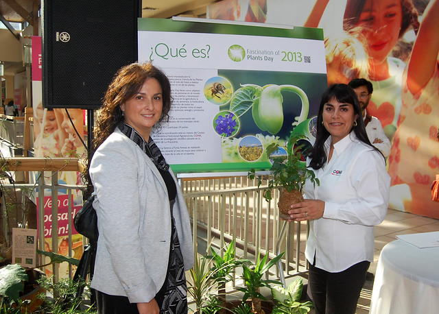 Lanzamiento del Fascination of Plants Day en Chile. CGNA, Temuco.
