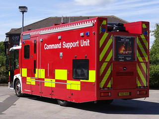 South Yorkshire Fire & Rescue Service Mercedes Econic Command Support Unit