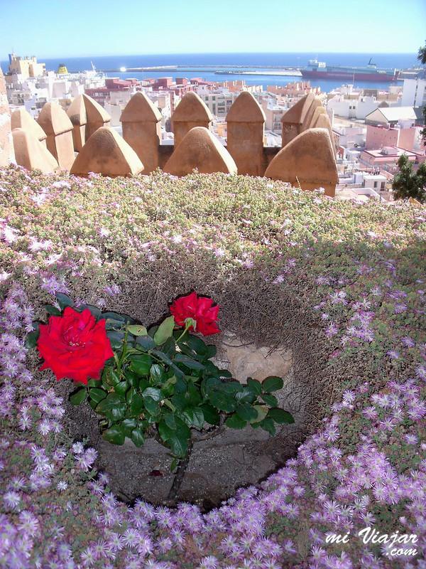 Vista de Almería desde la Alcazaba