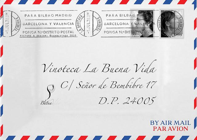 NUEVA CARTA DE LA VINOTECA LA BUENA VIDA - EDICIÓN 2013 BY AIR MAIL