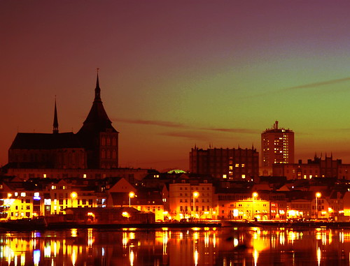 Sonnenuntergang in Rostock 01