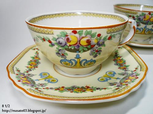 Wedgwood & Co MAYFAIR Tea Cups with Saucers 5