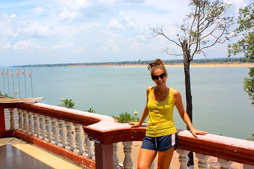 Welcome to Kratie, a Cambodian town on the wide Mekong