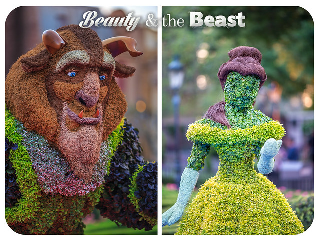 Beauty and the Beast Diptych