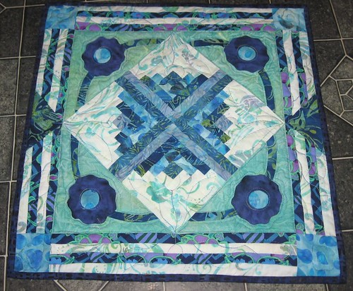 Marie's finished quilt