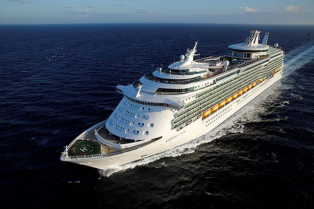 The majestic Mariner of the Seas, picture provided by Royal Caribbean
