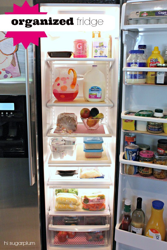 Hi Sugarplum | How to Organize Your Fridge