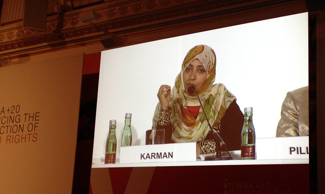 Rede von Tawakkol Karman