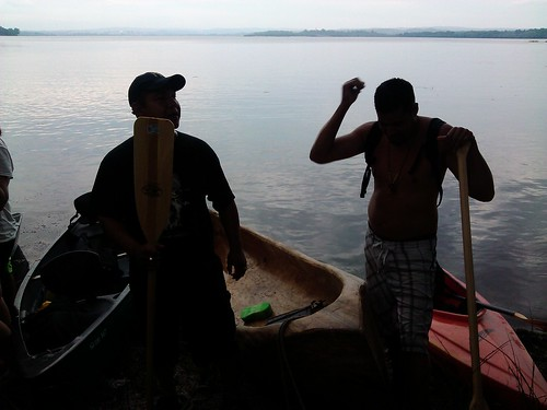 Hickory and Pete Edwards Jamie Jacobs July 2 Onondaga Lake by Syracuse Peace Council