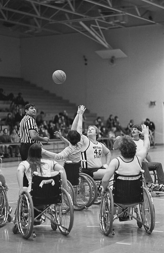 Adapted Rec Basketball February 1978