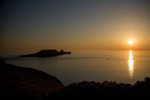wales unitedkingdom sunsets gower nationaltrust wfc rhossili nationaltrustwales nationaltrustrhossili