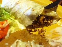 Burrito insides