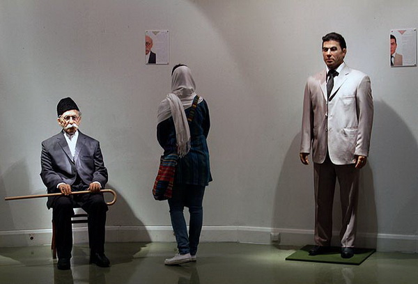 Иран, Персия, Тегеран, выставка, восковые фигуры, иранцы