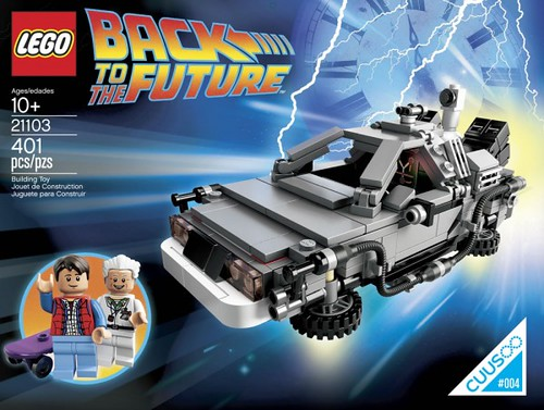 LEGO CUUSOO Back to the Future Time Machine (21103)