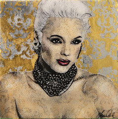Portrait of Brigitte Nielsen