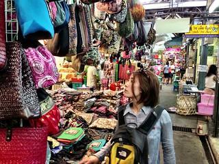Image of Chatuchak Market near Charoen Pokphand Foods (CPF) Plc. Co. Ltd.. thailand bangkok maki