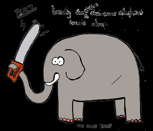 Chainsaw Elephant