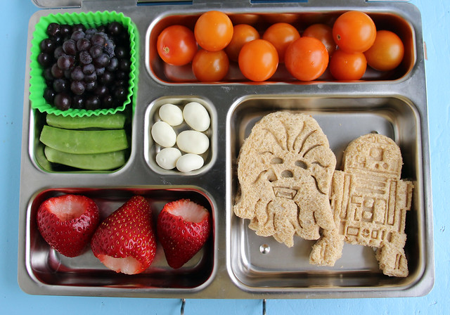 Preschool Wookie and Droid PlanetBox Bento #484