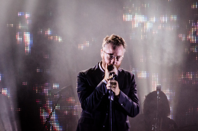 The National live at the Murat Theatre on Sunday, August 4th.