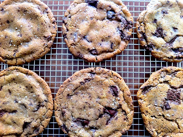 Ginger and Brown Butter Chocolate Chunk Cookies