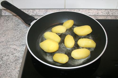31 - Kartoffeln anbraten / Fry potatoes