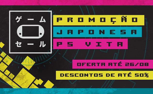 Oferta de Jogos Japoneses para PS Vita