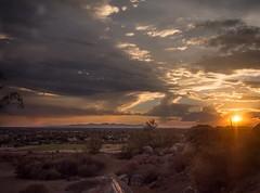 Sundown Above the Park