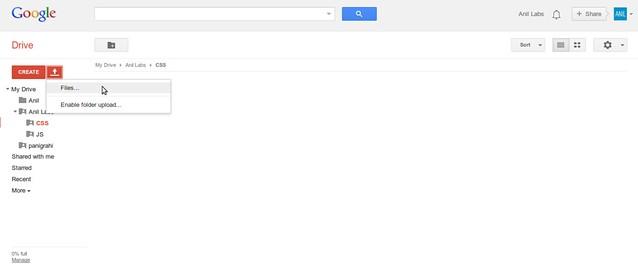 Google Drive as free CDN to your website by Anil Kumar Panigrahi - Screen 11