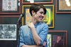 Sara of Tegan and Sara at Twist & Shout