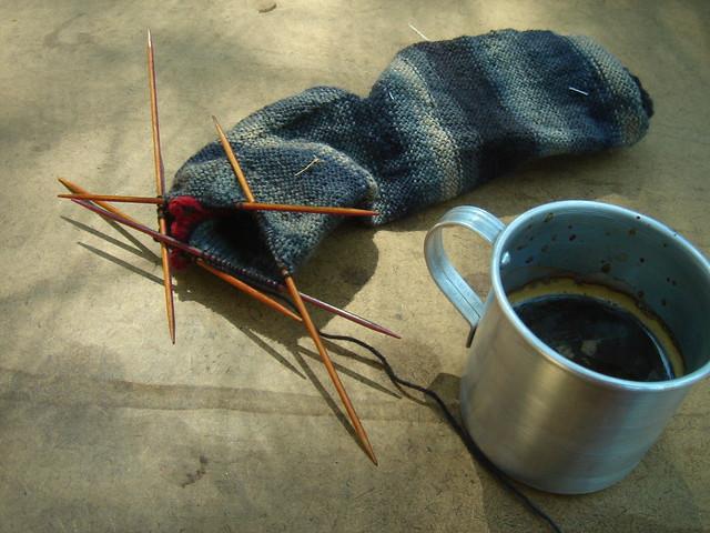 A caneca e as meias