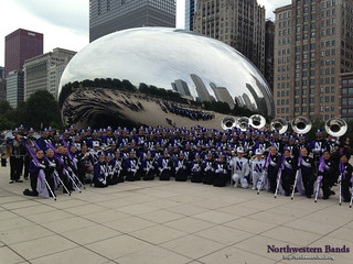 NUMB Welcomes the Class of 2017 at Millenium Park