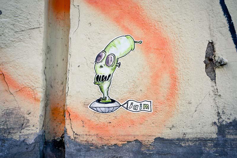 Streetart Hamburg Jaim