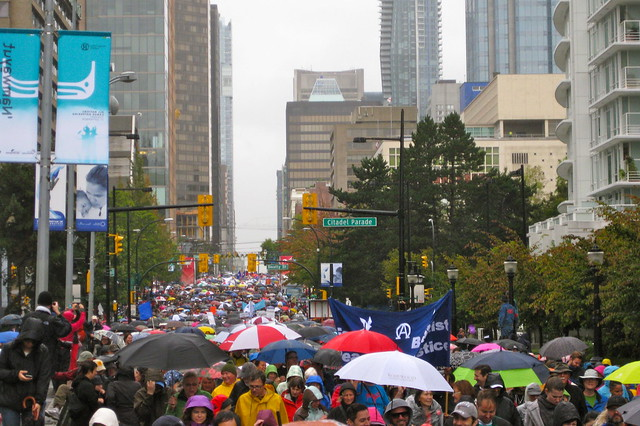 70,000 strong at Walk for Reconciliation