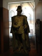 Vilhelm I. statue at Sønderborg Castle