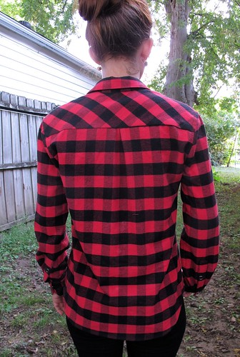 Lumberjack Archer; Ponte Leggings