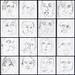 60 second portraits ~XI by Gila Mosaics n'stuff
